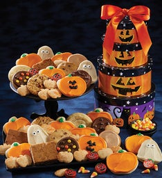 Deluxe Halloween Gift Tower