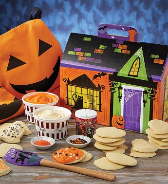 Cheryl39s Halloween Cut-out Cookie Decorating Kit