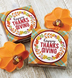 Happy Thanksgiving Cookie Card