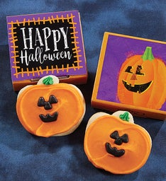 Happy Halloween Cookie Card
