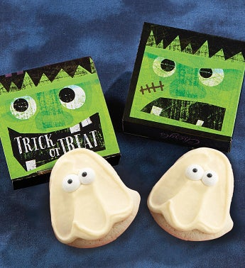 Trick Or Treat Cookie Card