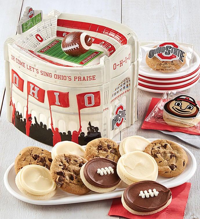 The Ohio State University Stadium Cookie Jar