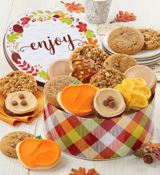 Autumn Greetings Gift Tin Fall Assortment