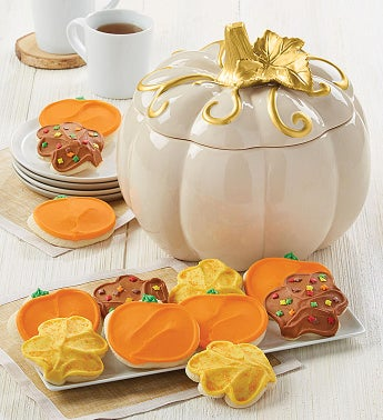 Collectors Edition Fall Cookie Jar