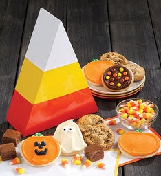 Halloween Candy Corn Gift Box