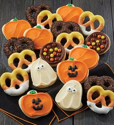 Halloween Cookies and Pretzels