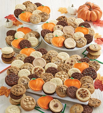 100 Ct Deluxe Fall Cookie Dessert Box