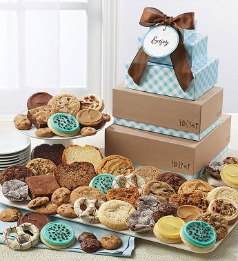 Cheryl's Bakery Gift Tower with Message Tag