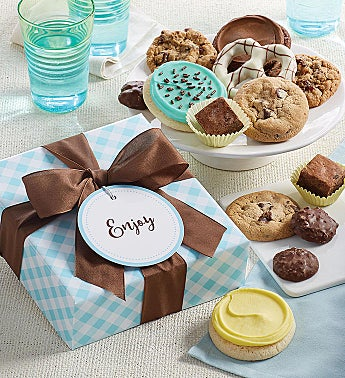 Cheryls Treats Gift Box with Message Tag