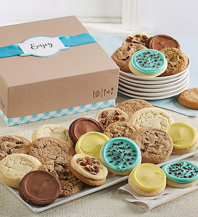 Cheryls Cookie Gift Boxes With Message Tag 12 Cookies From 1 800