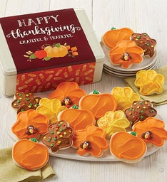 Happy Thanksgiving Gift Tin