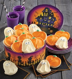 Halloween Haunted House Gift Tin