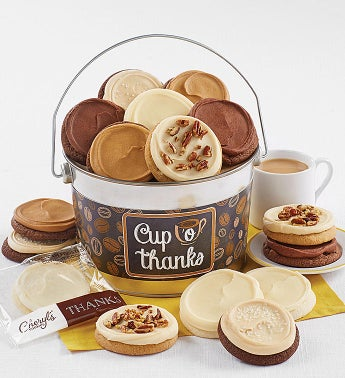 Cup o' Thanks Cookie Pail