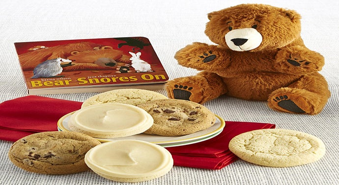 Bear Snores on Book and Plush Cookie Gift