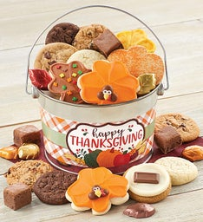 Thanksgiving Treats Pail