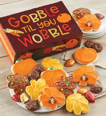 Gobble Til You Wobble Gift Box