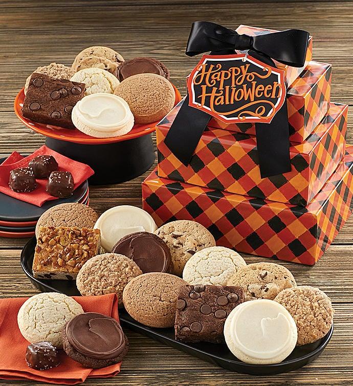 Sugar Free Halloween Gift Tower by Cheryl's