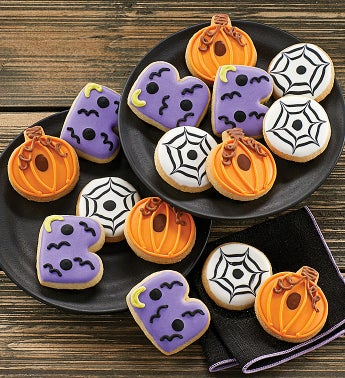 Mini Halloween Crunchy Sugar Cookies by Cheryl's
