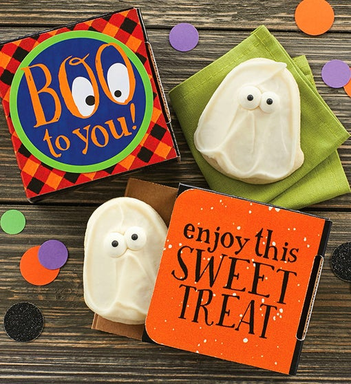Boo To You Ghost Cookie Card