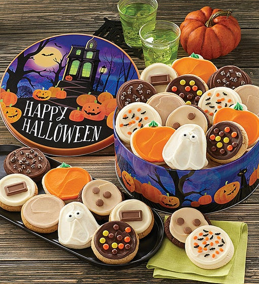 Grand Halloween Gift Tin - Frosted Assortment