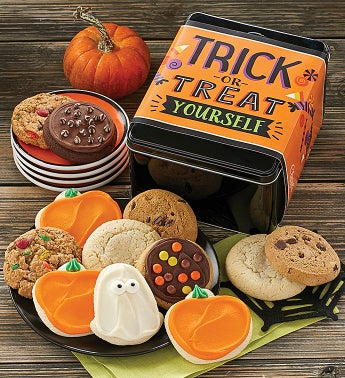 Trick or Treat Yourself Gift Tin
