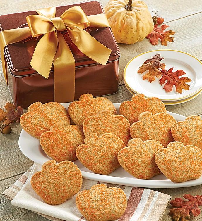 Butter Shortbread Fall Gift Tin