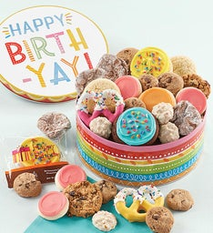 Birthday Gift Tin  Treats Assortment