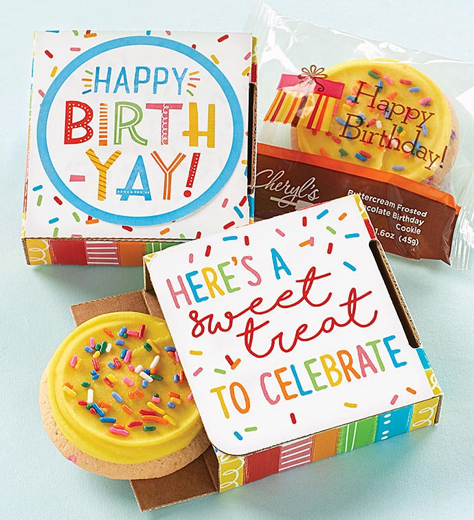 birthday cookie card