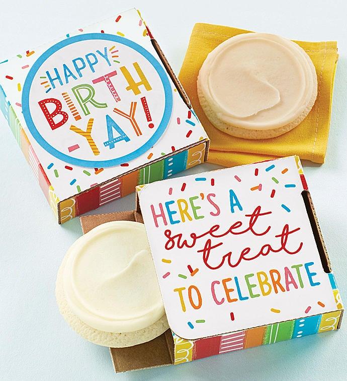 Sugar Free Happy BirthYay Cookie Card
