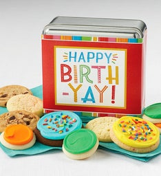 Happy Birthyay Gift Tin