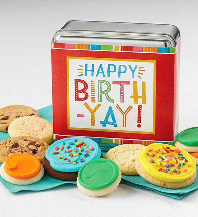 Happy Birthyay Gift Tin