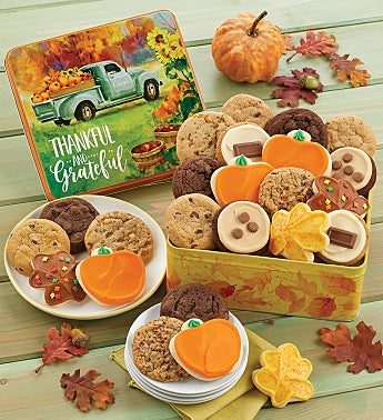 Thankful and Grateful Gift Tin – Fall Assortment