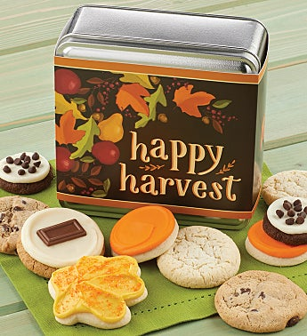 Happy Harvest Gift Tin