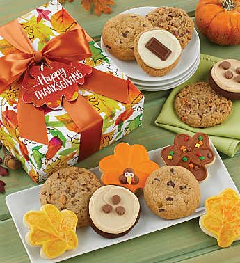 Thanksgiving Cookie Gift Boxes