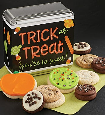 Trick or Treat You're So Sweet Gift Tin
