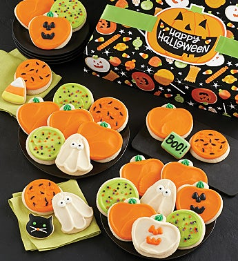 Halloween Gift Boxes Buttercream Frosted Assortment