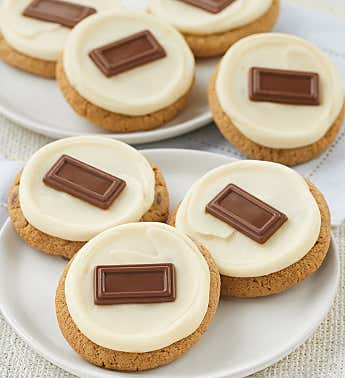 Marshmallow Frosted S'more Cookie Sampler