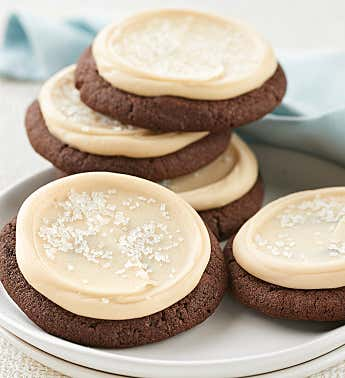 Buttercream Frosted Salty Caramel Cookie Sampler