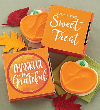 Thankful and Grateful Cookie Cards - Cases of 24 or 48