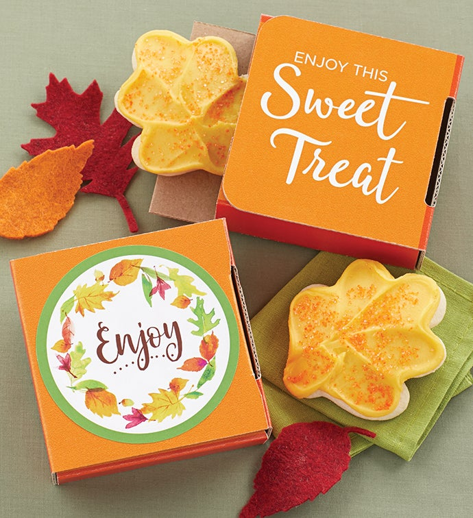 Fall Enjoy Cookie Cards - Cases of 24 or 48
