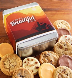 Create Your Own Life is a Beautiful Ride Tin