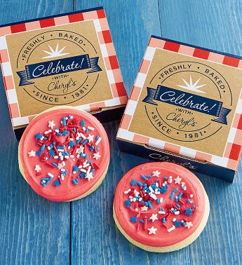 Patriotic Cookie Card