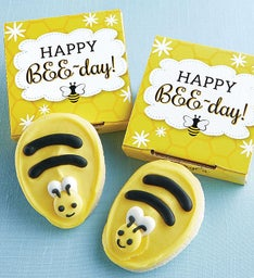 Happy Bee-Day Cookie Card
