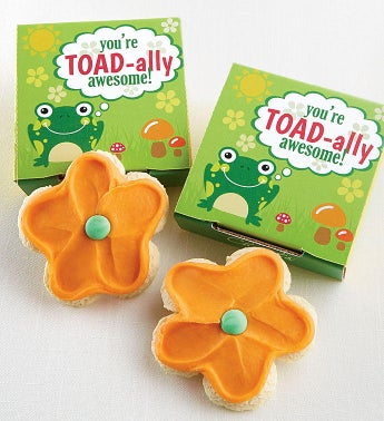 You're Toad-ally Awesome Cookie Card