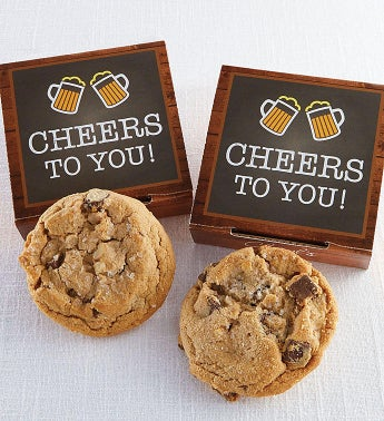 Cheers To You Cookie Card
