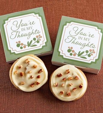 You're in My Thoughts Cookie Card - Butter Pecan
