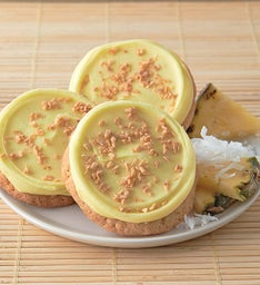 Flavor of the Month - Buttercream Frosted Pineapple Coconut