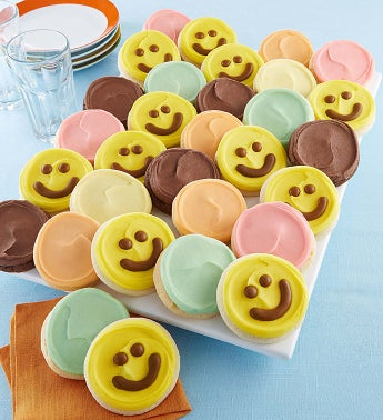 100 Happy Day Frosted Cookies