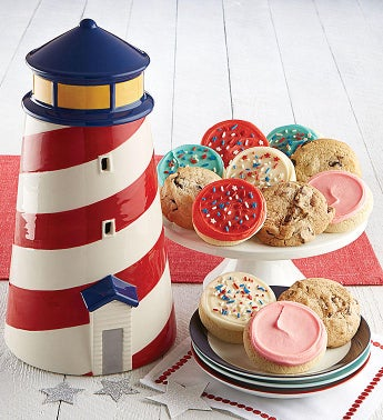 Collector's Edition Lighthouse Cookie Jar