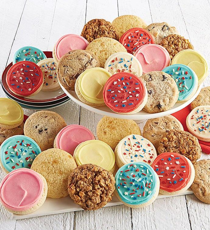 100 Americana Assorted Cookies